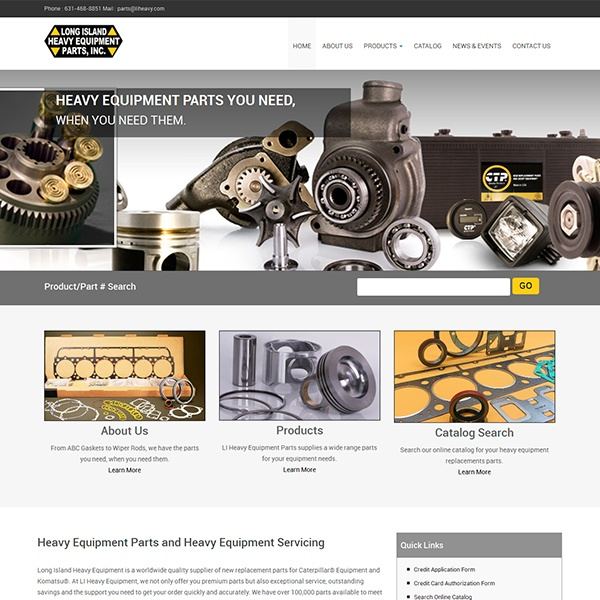 LI Heavy Equipment Parts