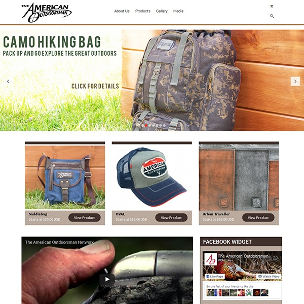 The American Outdoors Man Bags