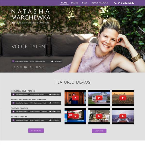 Natasha Marchewka Voice Talent