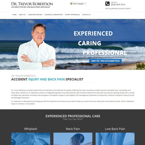 Dr. Trevor Robertson