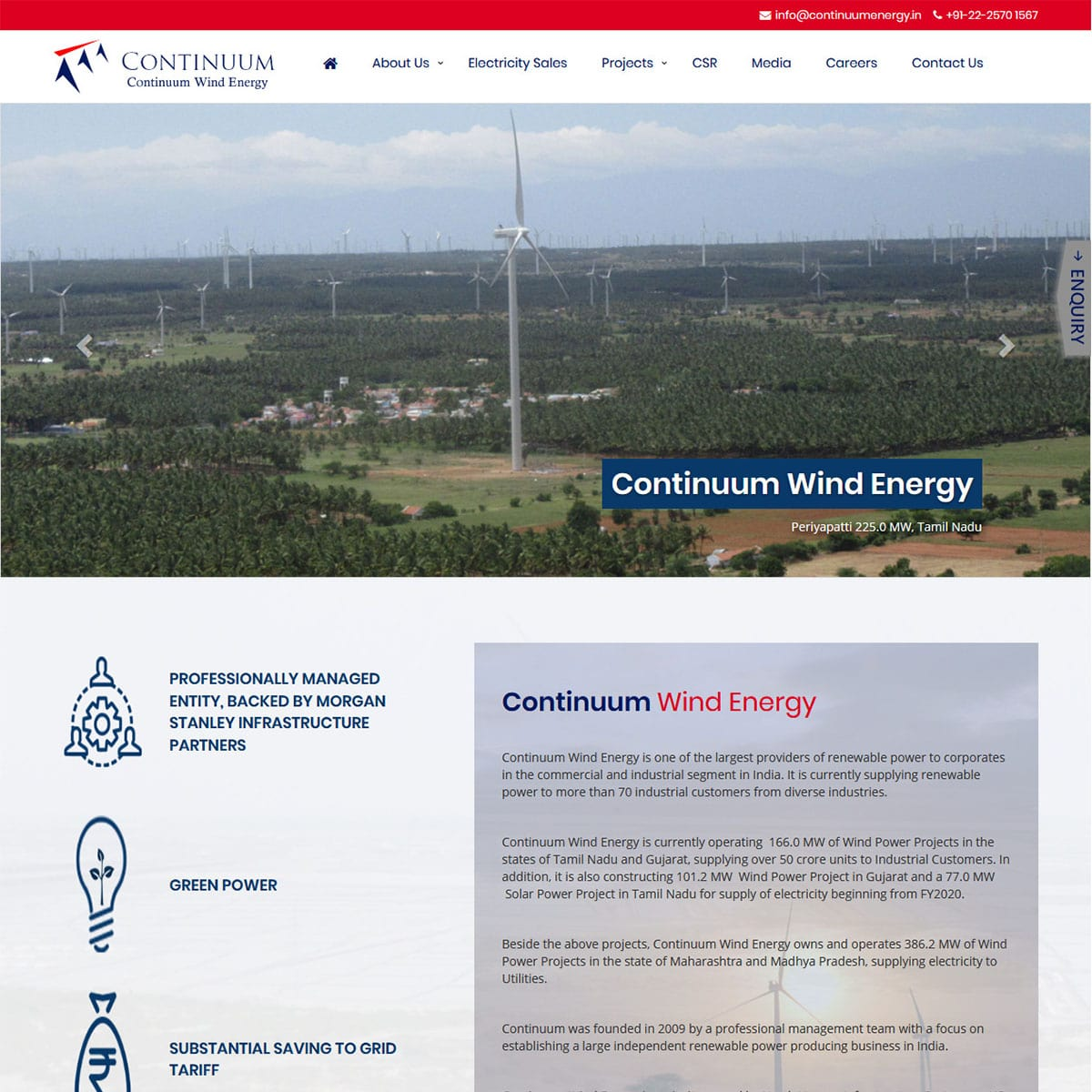Continuum Wind Energy